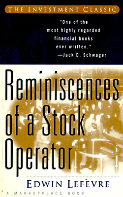 Image for REMINISCENCES OF A STOCK OPERATOR