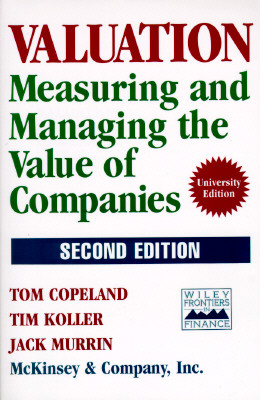 Image for Valuation: Measuring and Managing the Value of Companies [Second Edition]