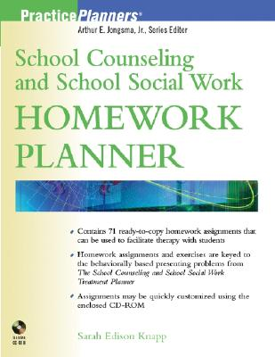 Image for School Counseling and School Social Work Homework Planner