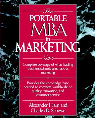 Image for The Portable MBA in Marketing (Portable MBA (Wiley))