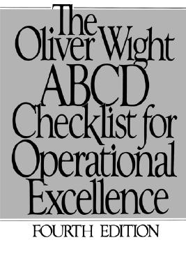 Image for The Oliver Wight ABCD Checklist for Operational Excellence (The Oliver Wight Companies)