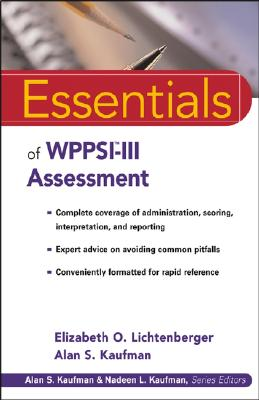 Image for Essentials of WPPSI-III Assessment