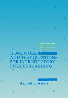 Image for Homework and Test Questions for Introductory Physics Teaching