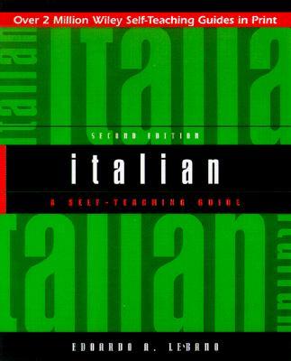 Italian: A Self-Teaching Guide, 2nd Edition, Lèbano, Edoardo A.