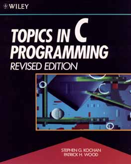 Image for Topics in C Programming, Revised Edition
