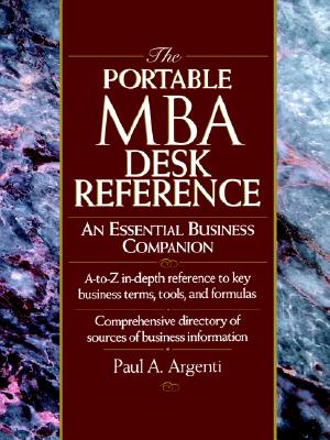 Image for The Portable MBA Desk Reference: An Essential Business Companion (The Portable MBA Series)