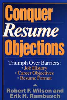 Image for CONQUER RESUME OBJECTIONS
