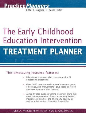 The Early Childhood Education Intervention Treatment Planner, Jongsma Jr., Arthur E.; Winkelstern, Julie A.