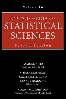 Image for Encyclopedia of Statistical Sciences, Index, Volume 16