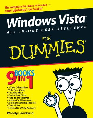 Windows Vista All-in-One Desk Reference For Dummies, Woody Leonhard