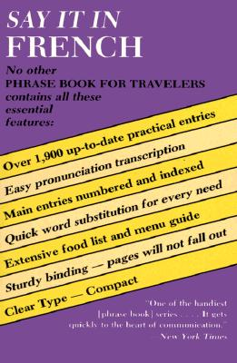 Image for Say It In French: Phrase Book for Travelers