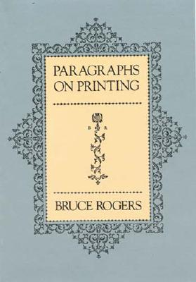 Image for Paragraphs on Printing