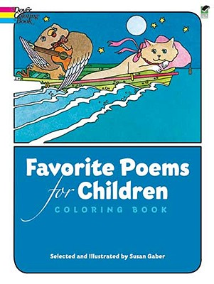 Image for Favorite Poems for Children Coloring Book (Dover Classic Stories Coloring Book)