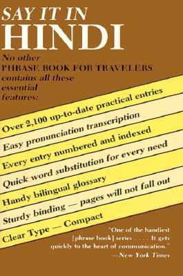 Say It in Hindi (Dover Language Guides Say It Series) (English and Hindi Edition), Veena Talwar Oldenburg
