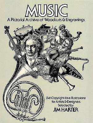 Image for Music: A Pictorial Archive of Woodcuts & engravings