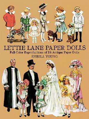 Lettie Lane Paper Dolls, Young, Sheila