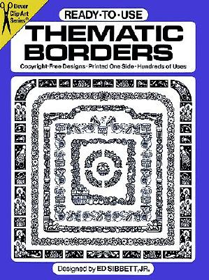 Image for Ready-to-Use Thematic Borders (Dover Clip-Art Series)