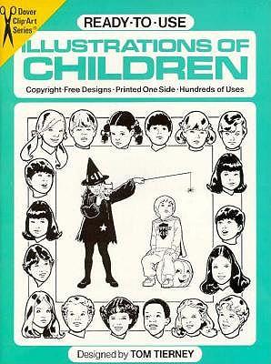 Image for Clip Art-Illustrations of Children (Dover Clip Art)