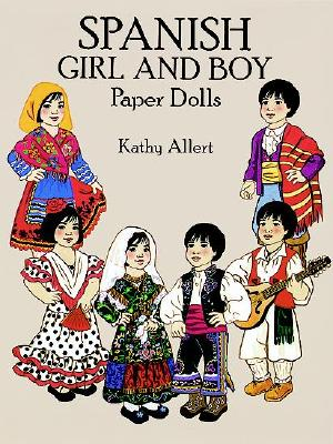 Image for Spanish Girl and Boy Paper Dolls in Full Color
