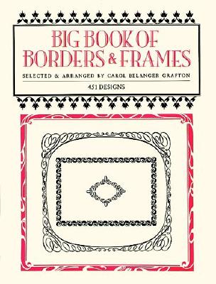 Image for Big Book of Borders and Frames (Dover Pictorial Archive)