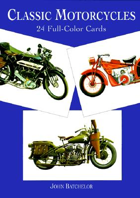 Image for Classic Motorcycles: 24 Full-Color Cards