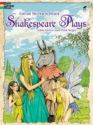 Image for Great Scenes from Shakespeare's Plays (Dover Classic Stories Coloring Book)