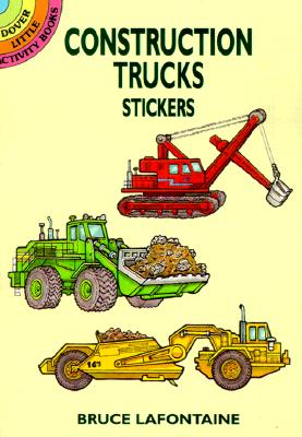 Image for Construction Trucks Stickers (Dover Little Activity Books Stickers)