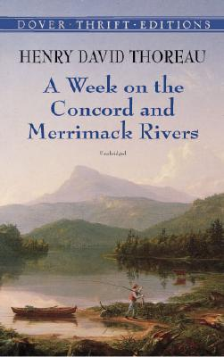 Image for A Week on the Concord and Merrimack Rivers (Dover Thrift Editions)
