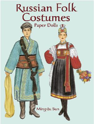 Image for Russian Folk Costumes Paper Dolls