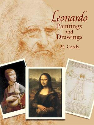 Image for Leonardo Paintings and Drawings: 24 Cards (Dover Postcards)