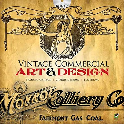 Image for Vintage Commercial Art and Design (Dover Pictorial Archive)