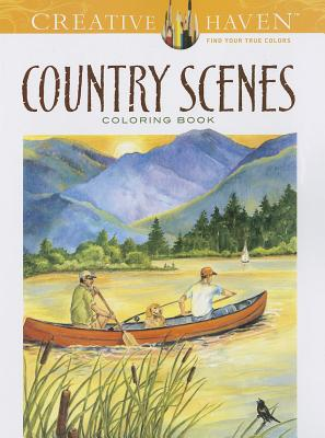 Image for Country Scenes: Coloring Book