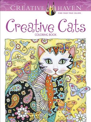 Image for Creative Haven Creative Cats Coloring Book