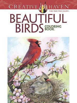 Creative Haven Beautiful Birds Coloring Book (Adult Coloring), Barlowe, Dot