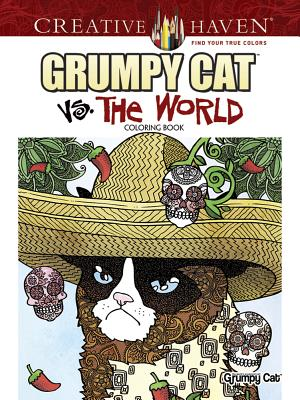 Image for Creative Haven Grumpy Cat Vs. The World Coloring Book (Adult Coloring)