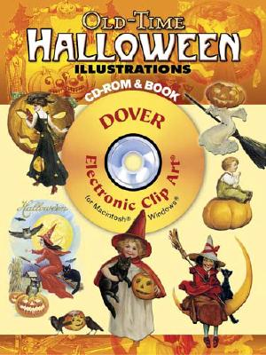 Image for Old-Time Halloween Illustrations CD-ROM and Book (Dover Electronic Clip Art)