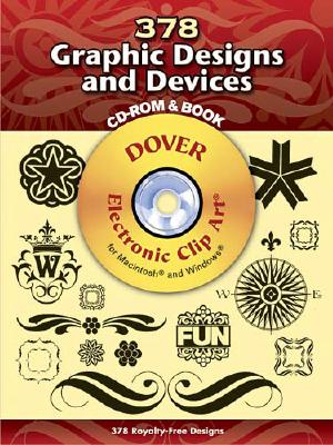 Image for 380 Graphic Designs and Devices (Dover Electronic Clip Art) (CD-ROM and Book)