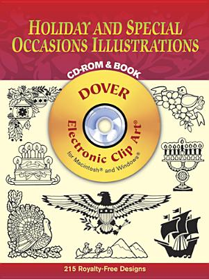 Image for Holiday and Special Occasions Illustrations CD-ROM and Book (Dover Electronic Clip Art)