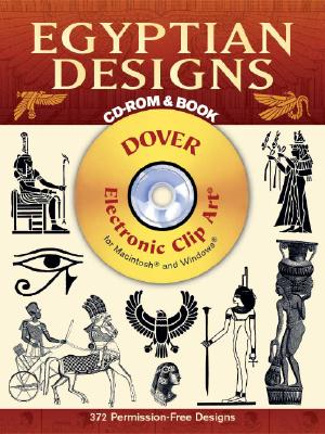 Egyptian Designs CD-ROM and Book (Dover Electronic Clip Art), Dover