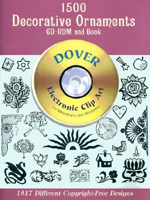 1500 Decorative Ornaments (CD-ROM & Book), Gary Barsch