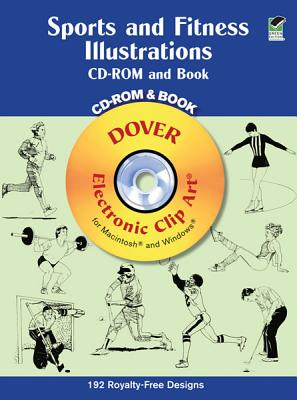 Sports and Fitness Illustrations, Dover Publications Inc