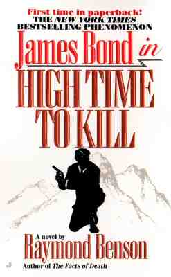 Image for HIGH TIME TO KILL JAMES BOND