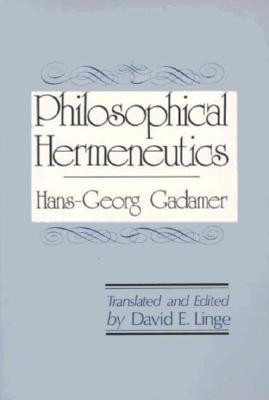 Image for Philosophical Hermeneutics