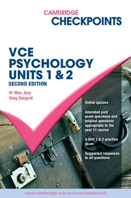 Image for Cambridge Checkpoints VCE Psychology Units 1&2 2014