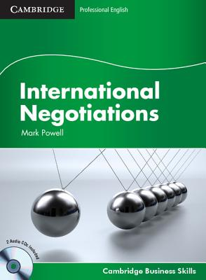Image for International Negotiations Student's Book with Audio CDs (2) (Cambridge Business Skills)