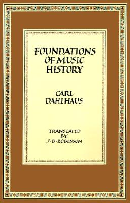 Image for Foundations of Music History