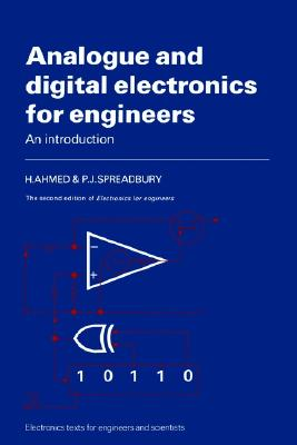 Image for Analogue and Digital Electronics for Engineers  An Introduction