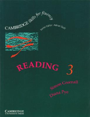 Image for Cambridge Skills for Fluency: Reading 3 Student's Book  Upper-intermediate