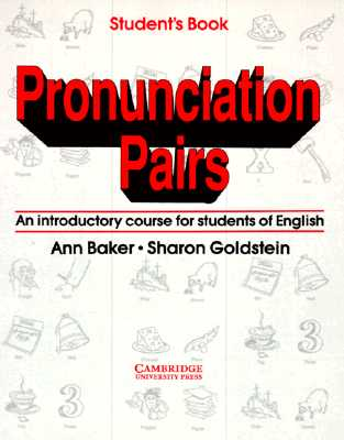 Image for Pronunciation Pairs:  An Introductory Course for Students of English  (Student's Book)