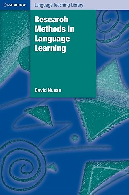 Research Methods in Language Learning, Nunan, David